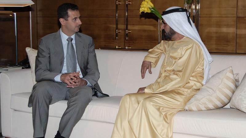 বাশার আল-আসাদের সাথে আরব আমিরাতের মিত্রতা