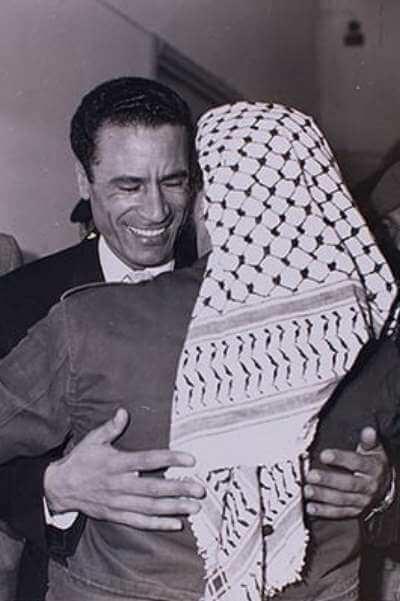 ১৯৭০ সালে গাদ্দাফির সাথে আরাফাতের সাক্ষাৎ