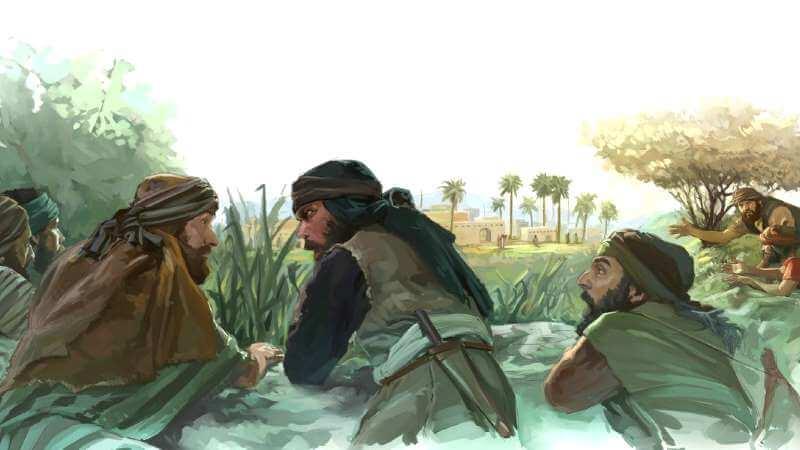মুসা (আ) এর ১২জন গুপ্তচর