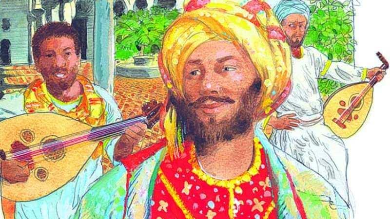 কর্দোবার ফ্যাশন সচেতন আরব পলিম্যাথ জিরিয়াব